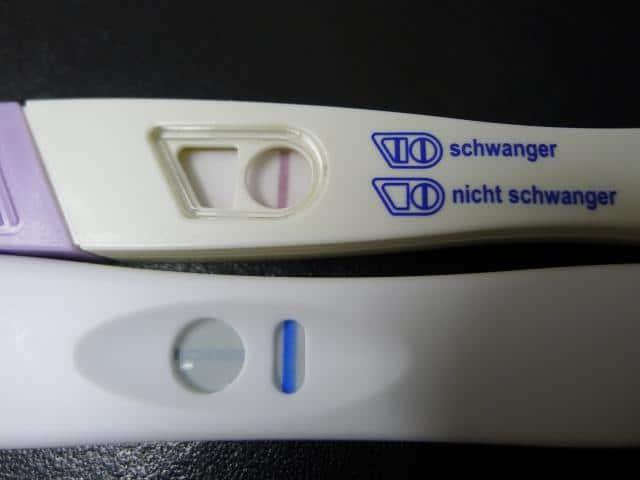 Schwangerschaftstest Positiv Dann Negativ Trotzdem Schwanger